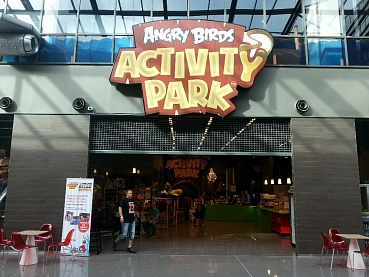 Парк Angry Birds Activity
